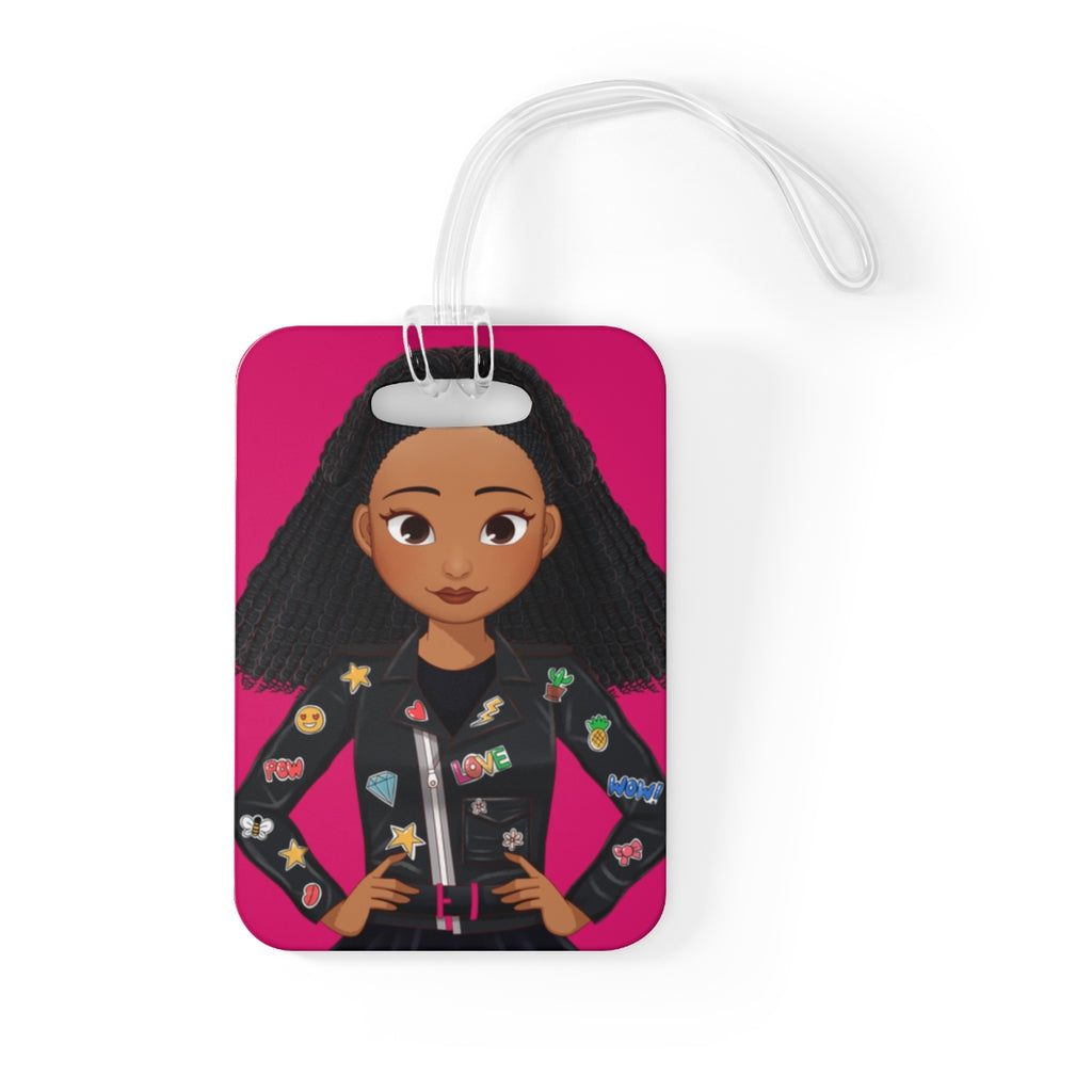 MISS APRIL Bag Tag