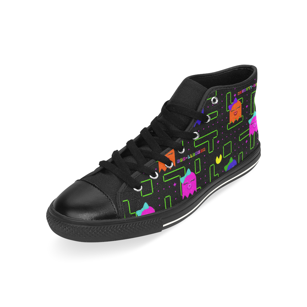 BOO-LLOWEEN HIGH TOP CANVAS GIRLS' SNEAKERS
