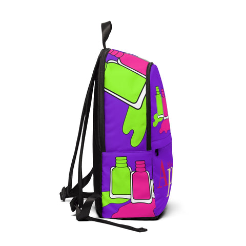 NAILED IT NEON PURPLE BACKPACK