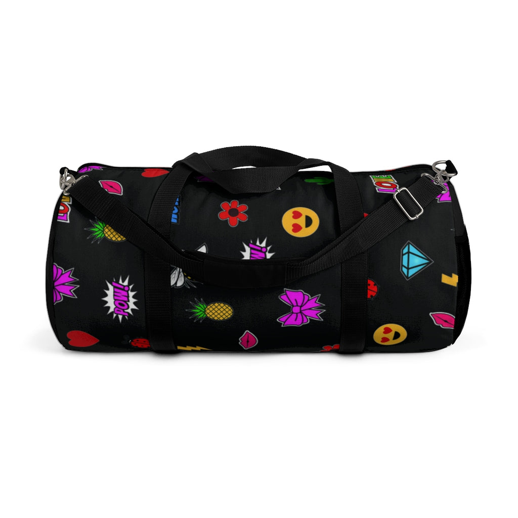 MISS APRIL'S EMOJI PATCHES Duffel Bag