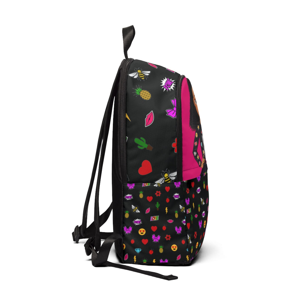 MISS APRIL EMOJI PATCHES BACKPACK