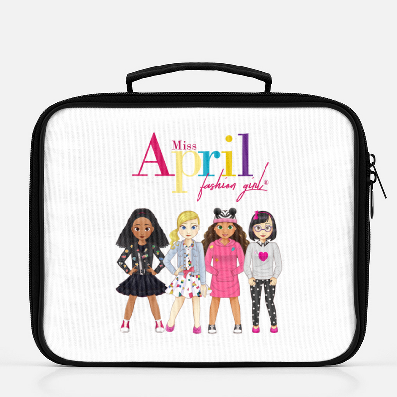 MISS APRIL FASHION GIRL LUNCHBOX