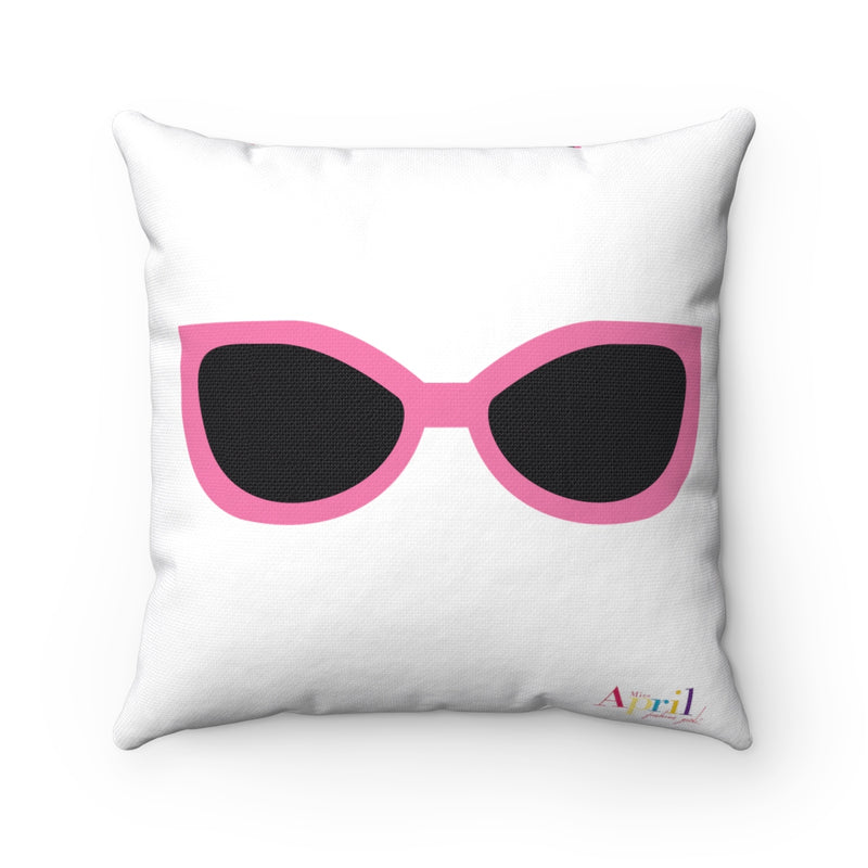 BOUGIE GIRLS Square Pillow Case (white)