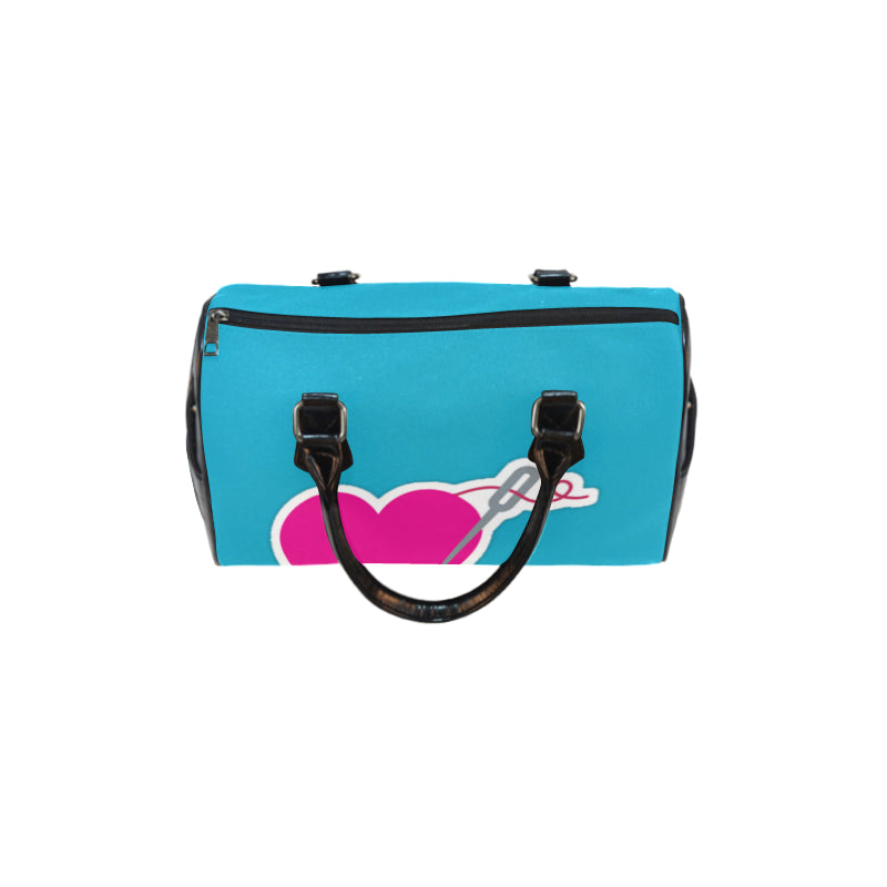 HEART AND NEEDLE SPEEDY HANDBAG - TEAL