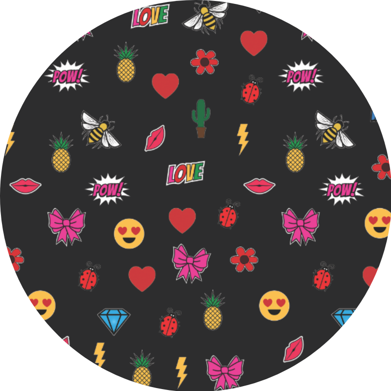 MISS APRI'S EMOJI FABRIC