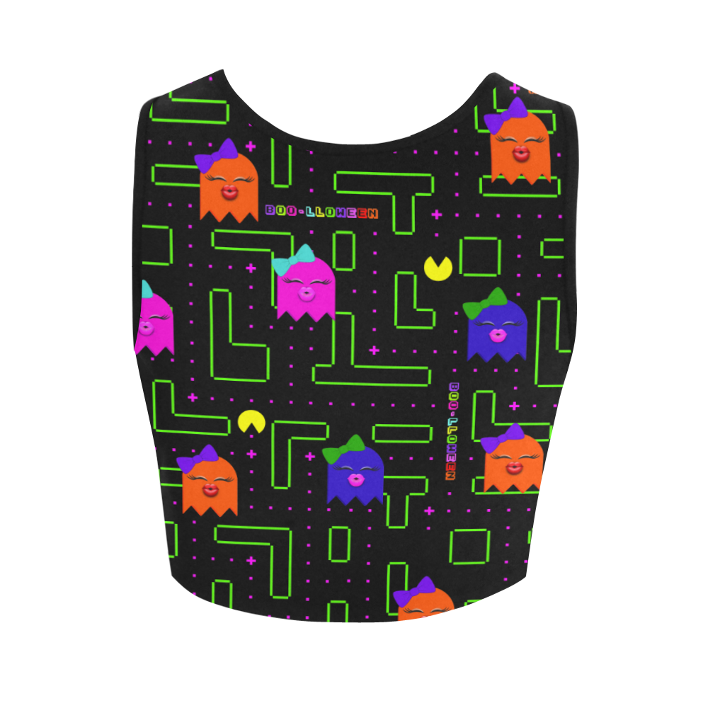 BOO-LLOWEEN FITNESS CROP TOP