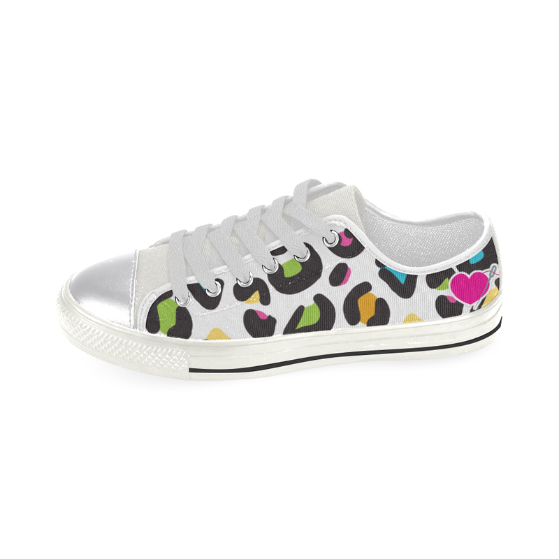 CABOODLE LOW TOP CANVAS GIRLS' SNEAKERS (sz 6-12)