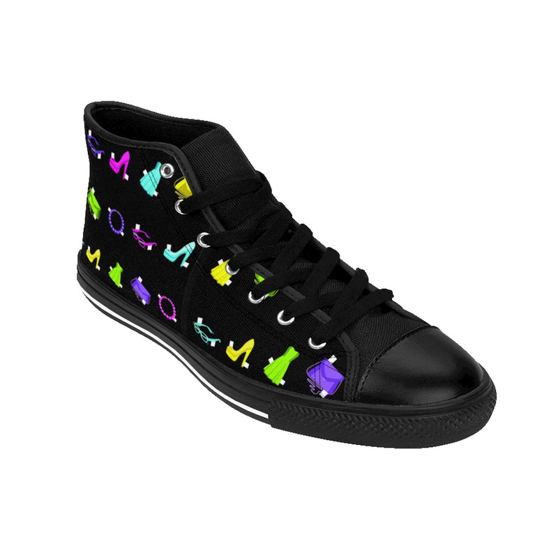 PAPER DOLLS HIGH-TOP GIRLS' SNEAKERS (sz 6-12)