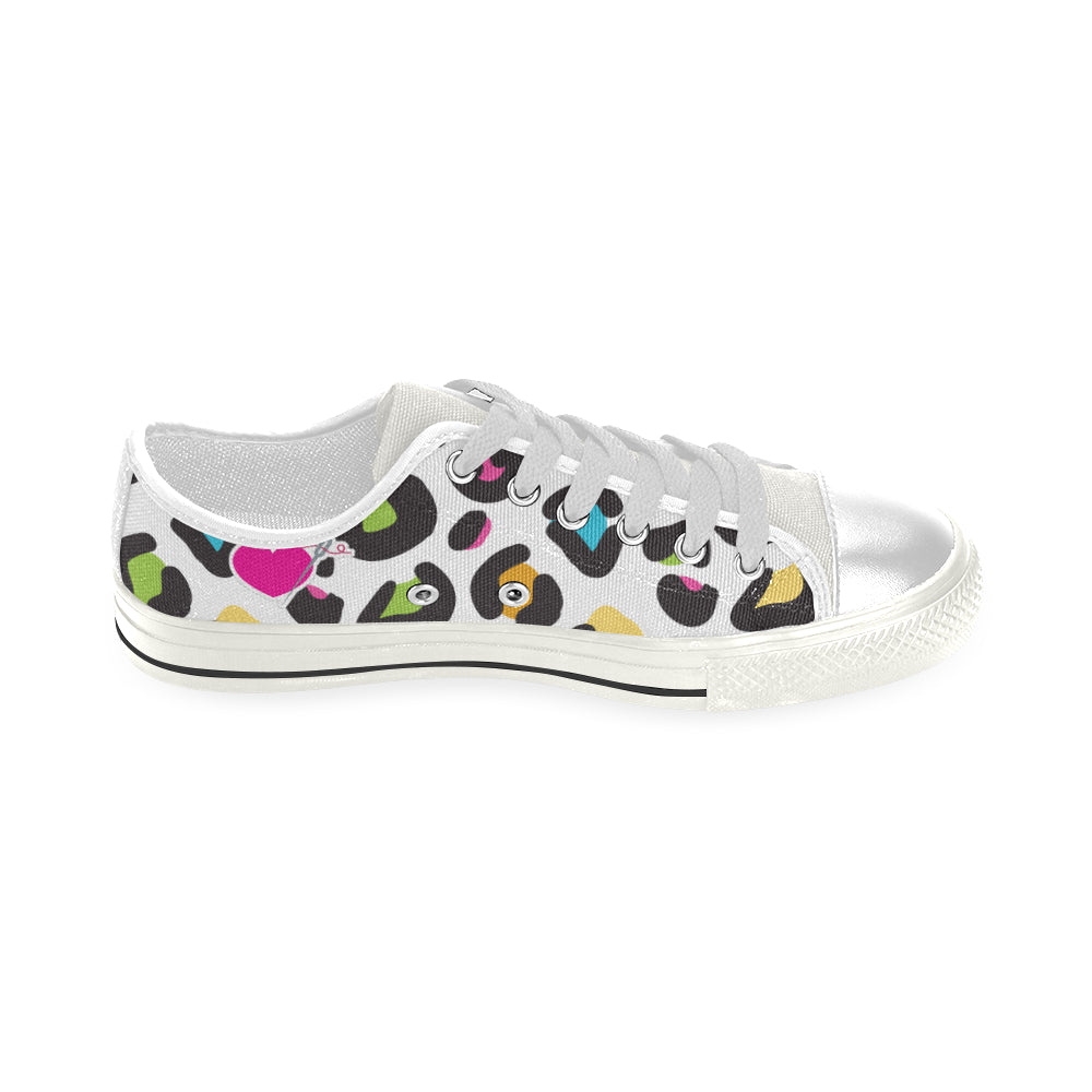 THE CABOODLE LOW TOP CANVAS GIRLS' SNEAKERS