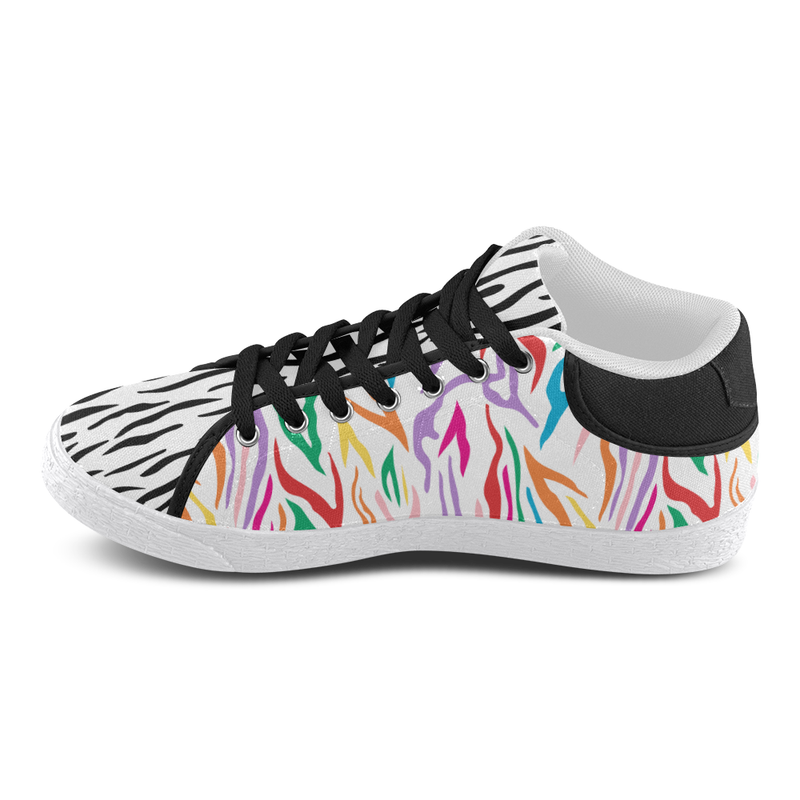 MISSY MIXIE MID TOP CANVAS GIRLS' SNEAKERS (sz 5-11)