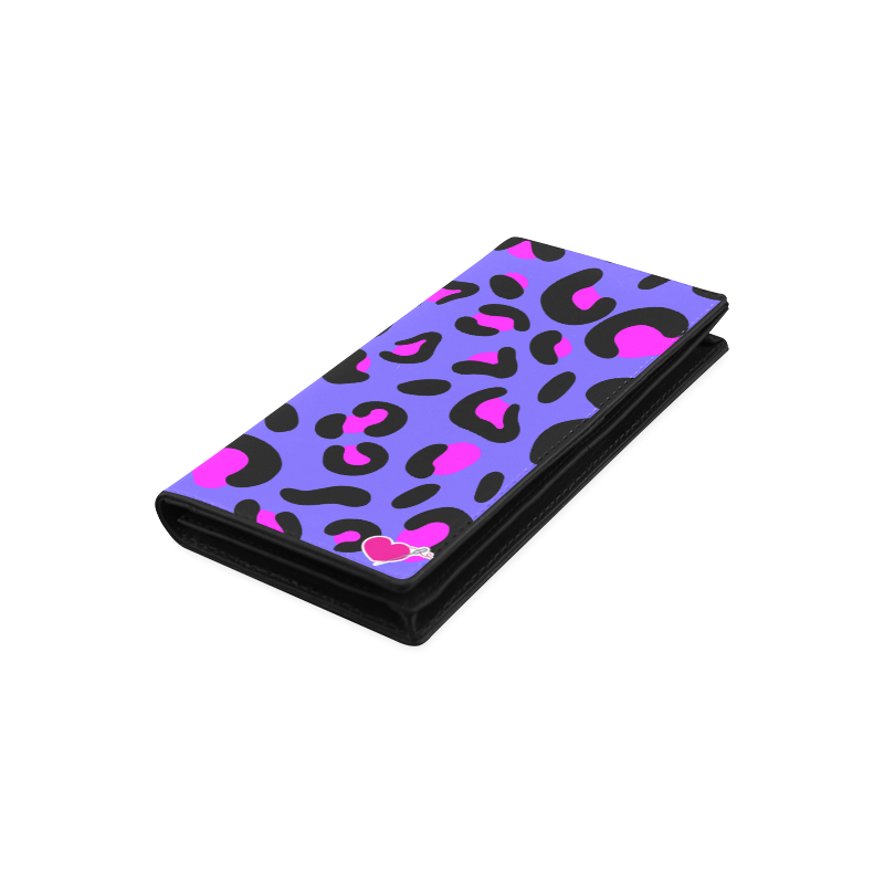 PURPLE LEOPARD WALLET