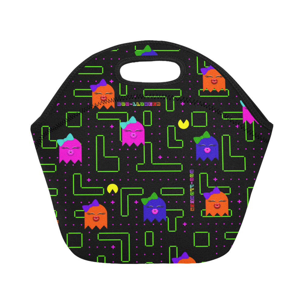 BOO-LLOWEEN SMALL NEOPRENE LUNCH TOTE