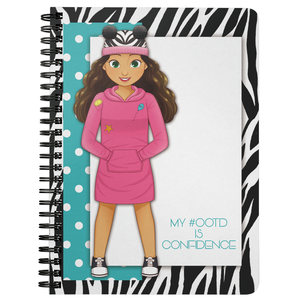 MISS CAMILA SPIRAL NOTEBOOK