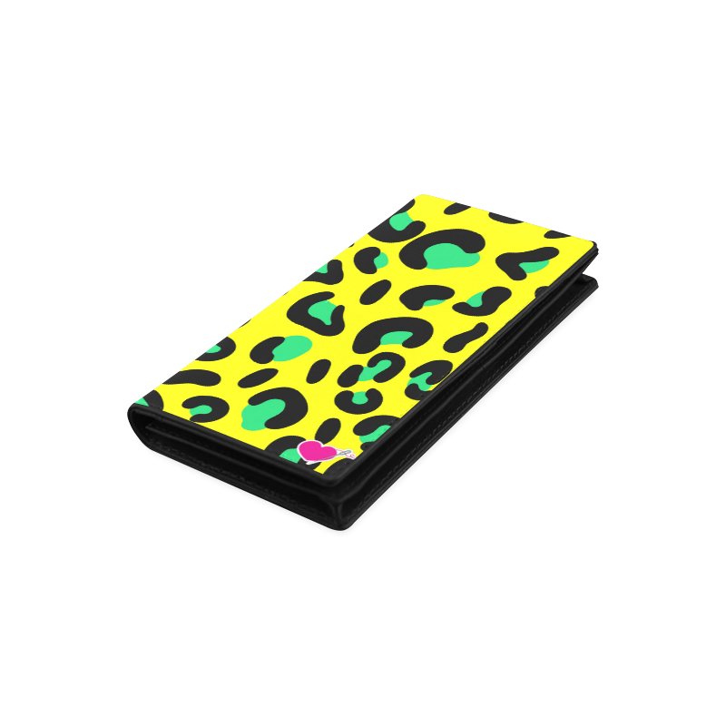 YELLOW LEOPARD WALLET