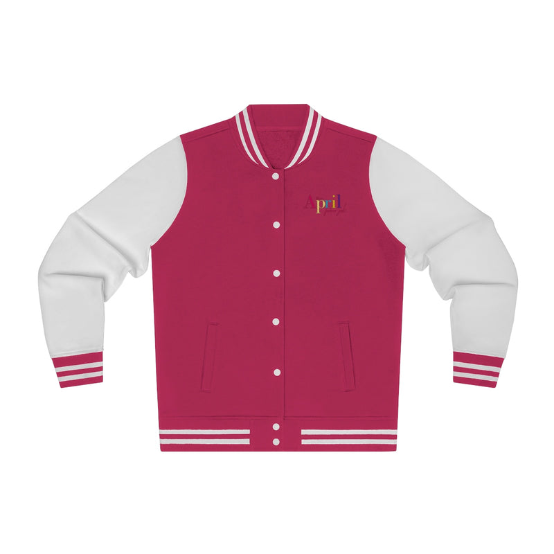 MISS APRIL Varsity Jacket