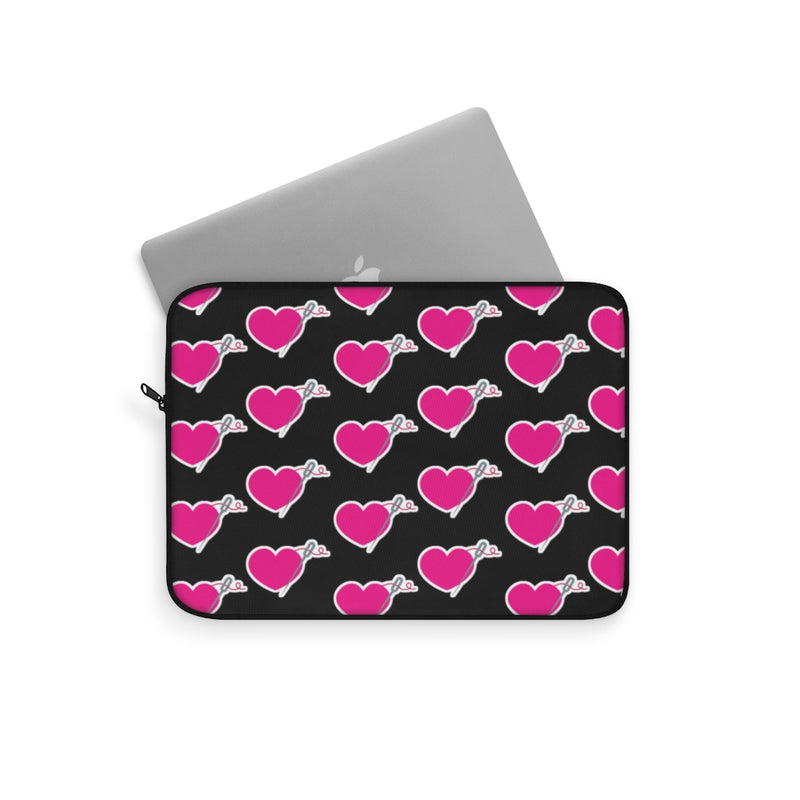 HEART AND NEEDLE Laptop Sleeve