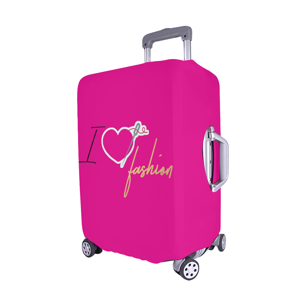 I HEART FASHION LUGGAGE COVER - MEDIUM