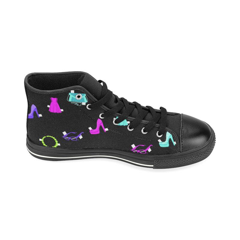 PAPER DOLLS HIGH TOP CANVAS GIRLS' SNEAKERS