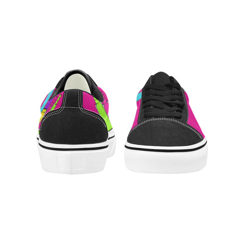 NAILED IT LOW TOP SKATER GIRLS' SNEAKERS (sz 4.5-12)