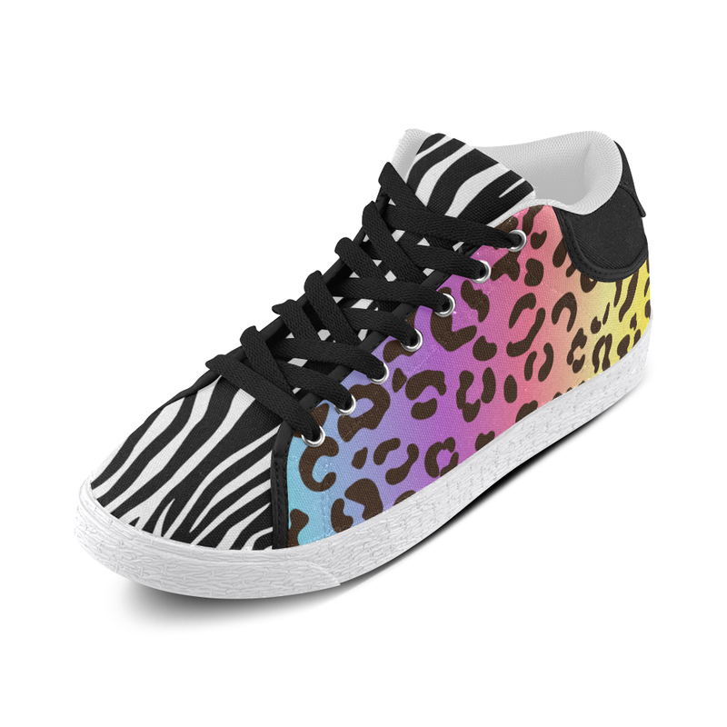 LISA MIXIE MID TOP CANVAS GIRLS' SNEAKERS (sz 5-11)