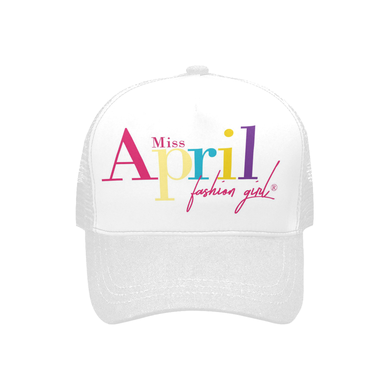 MISS APRIL FASHION GIRL TRUCKER HAT