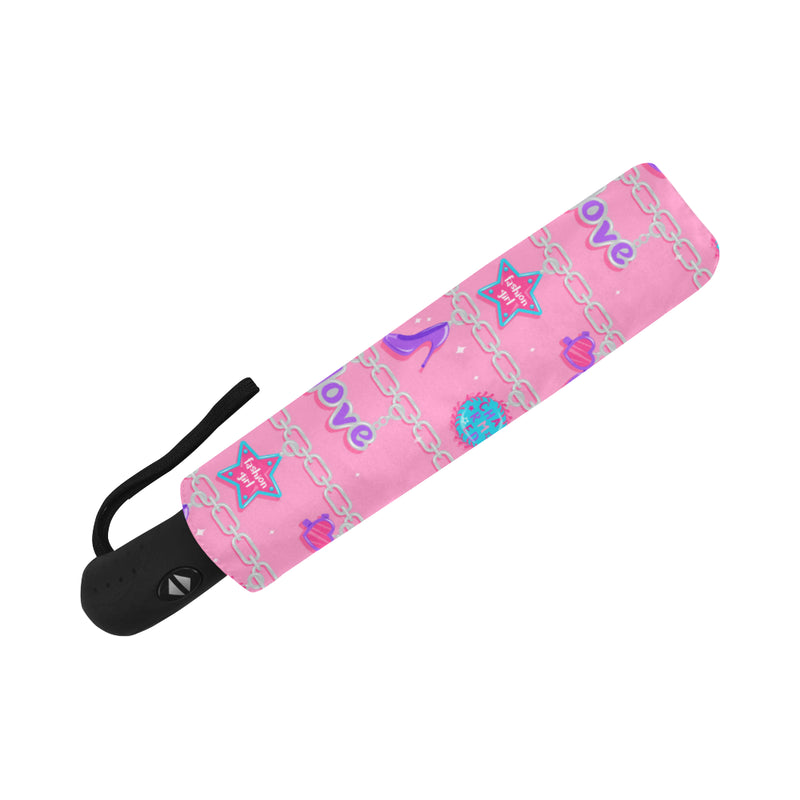 CHARMED AUTO FOLDING UMBRELLA
