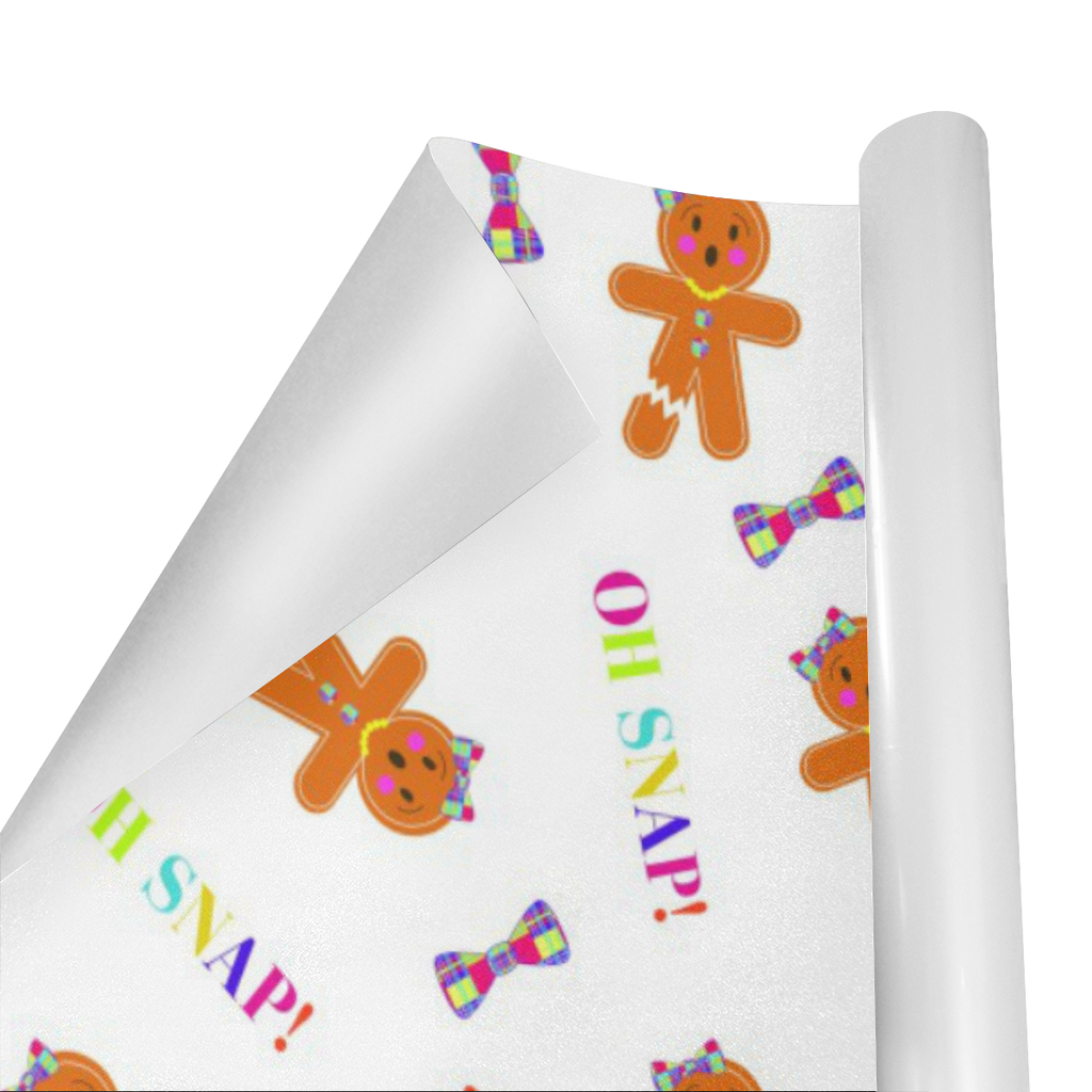 OH SNAP, MISS GINGER WRAPPING PAPER