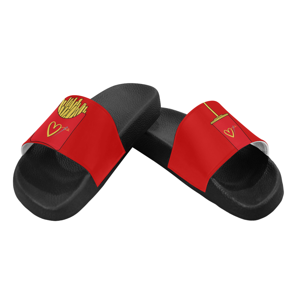 FAST FASHION SLIDE SANDALS