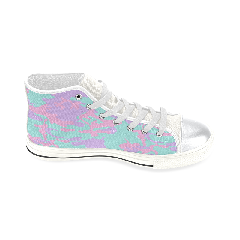 I SCREAM FASHION HIGH TOP CANVAS GIRLS' SNEAKERS