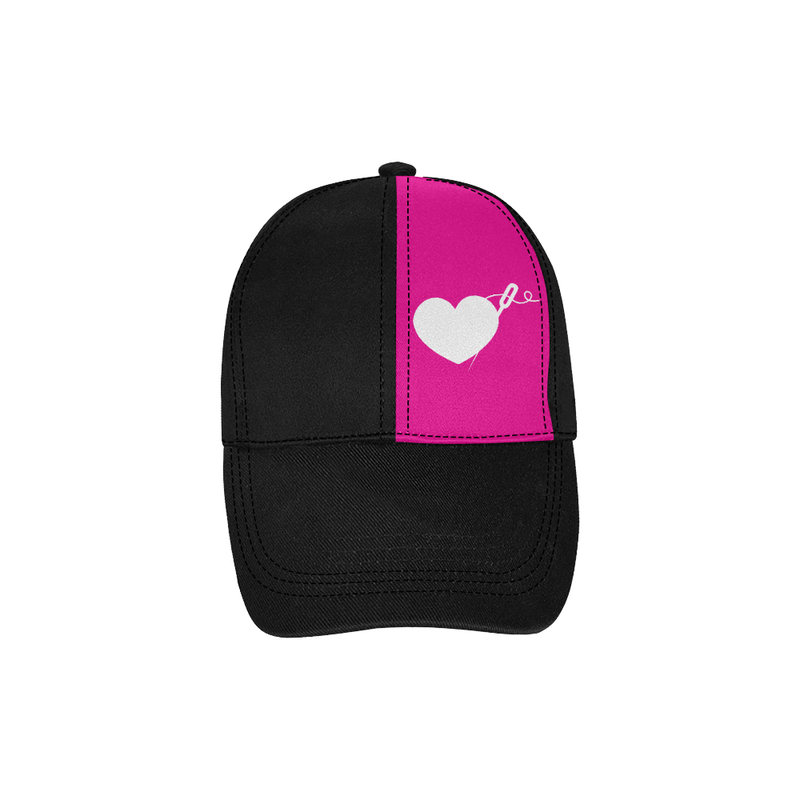 HEART AND NEEDLE DAD CAP