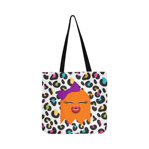 HEY BOO TRICK OR TREAT TOTE BAG- PUMPKIN