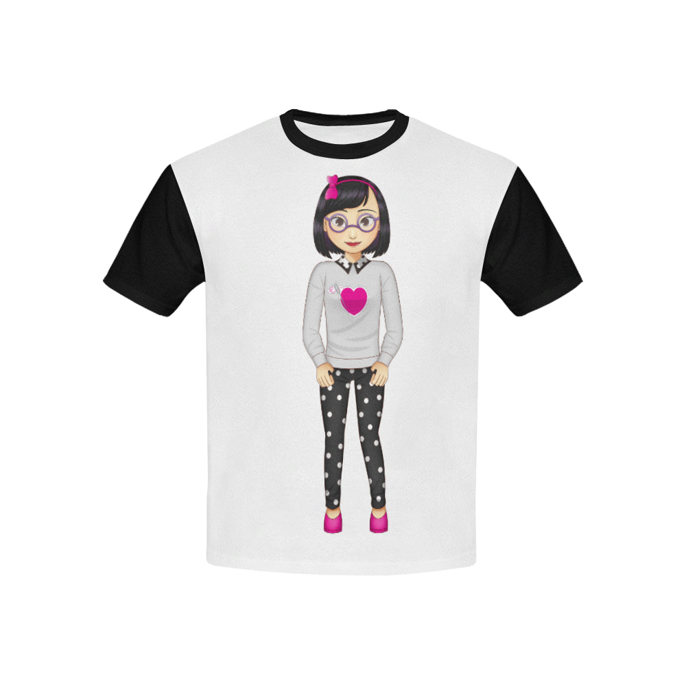MISS DANI POLKA LIKE A DOT DESIGNER KIDS' TEE