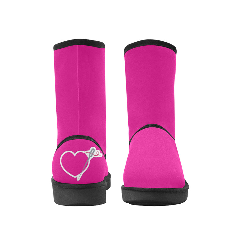 HEART AND NEEDLE WOMEN'S SNOW BOOT - pink