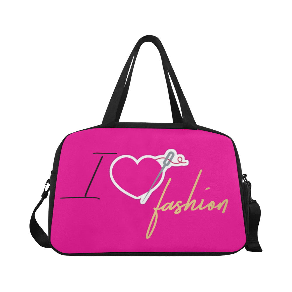 I HEART FASHION FITNESS & TRAVEL CARRY-ON