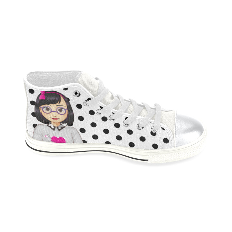 MISS DANI HIGH TOP CANVAS GIRLS' SNEAKERS