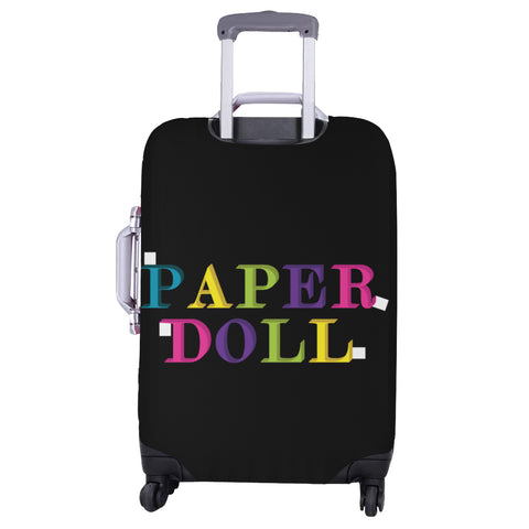 PAPER DOLL DRESS LUGGAGE COVER - LARGE