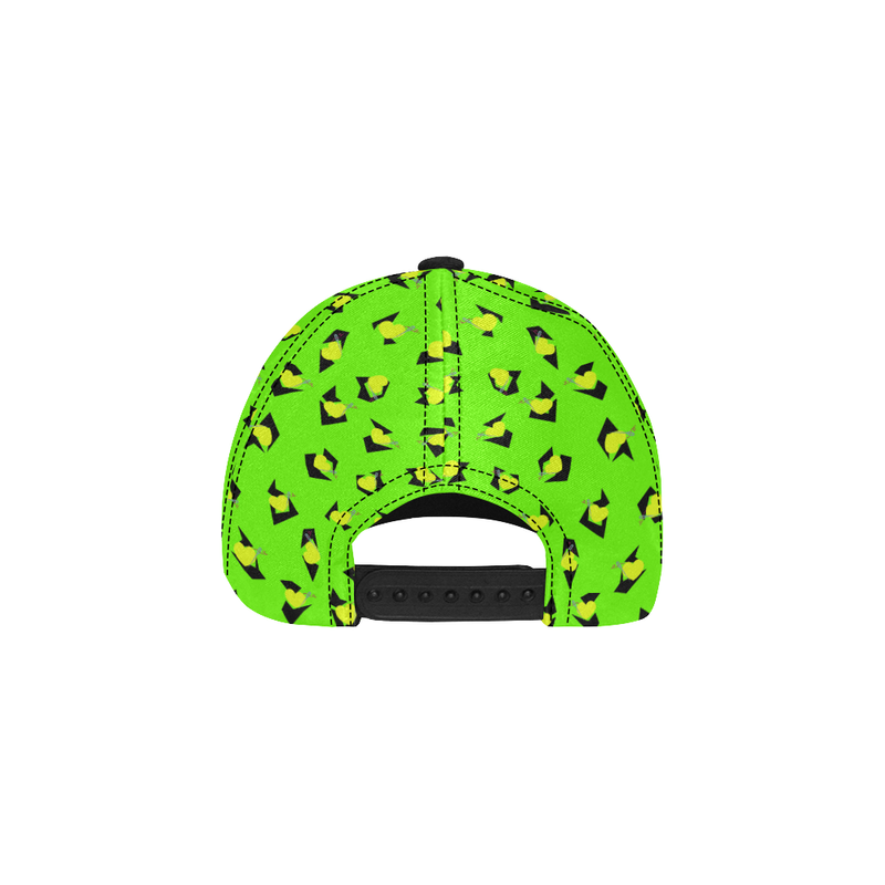 TOTALLY 80S NEON GREEN DAD CAP
