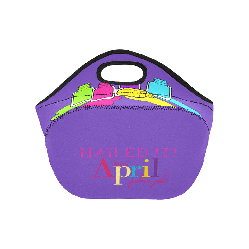 NAILED IT SMALL NEOPRENE LUNCH TOTE