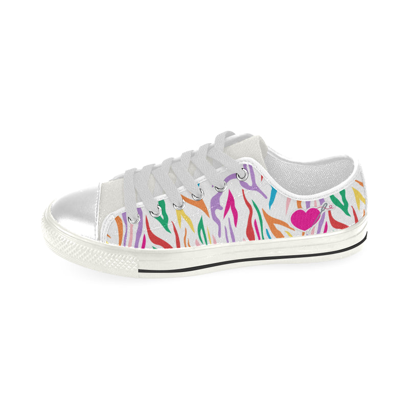 THE MISSY LOW TOP CANVAS GIRLS' SNEAKERS
