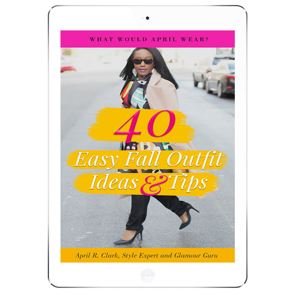 40 Easy Fall Outfit Ideas & Tips Ebook