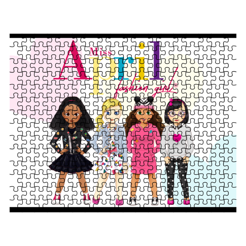 MISS APRIL FASHION GIRL PUZZLES
