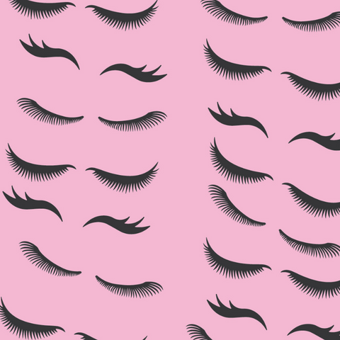 LOVELY LASHES WRAPPING PAPER