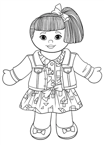 ***FREE DOWNLOAD*** Miss Bianca Coloring Page