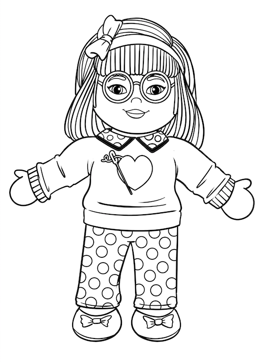 ***FREE DOWNLOAD*** Miss Dani Coloring Page