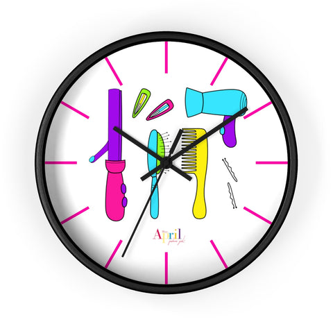 HAIR ESSENTIALS Wall clock