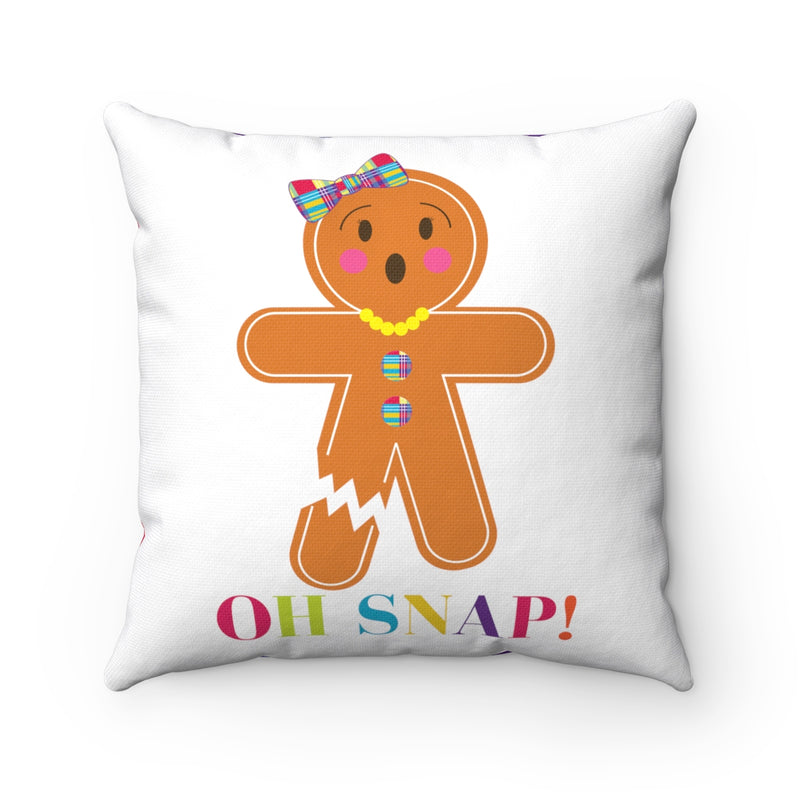 OH SNAP, MISS GINGER Square Pillow Case