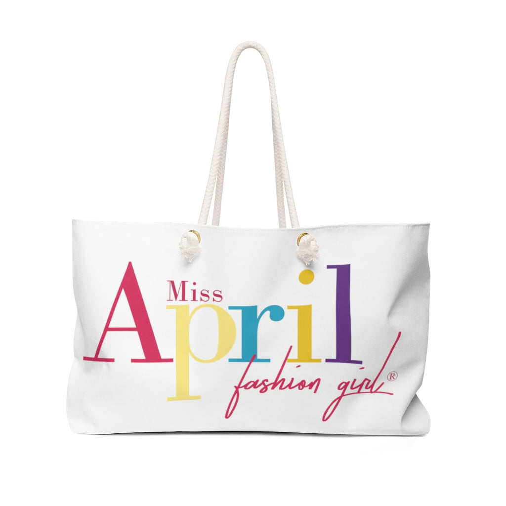MISS APRIL FASHION GIRL Weekender Bag