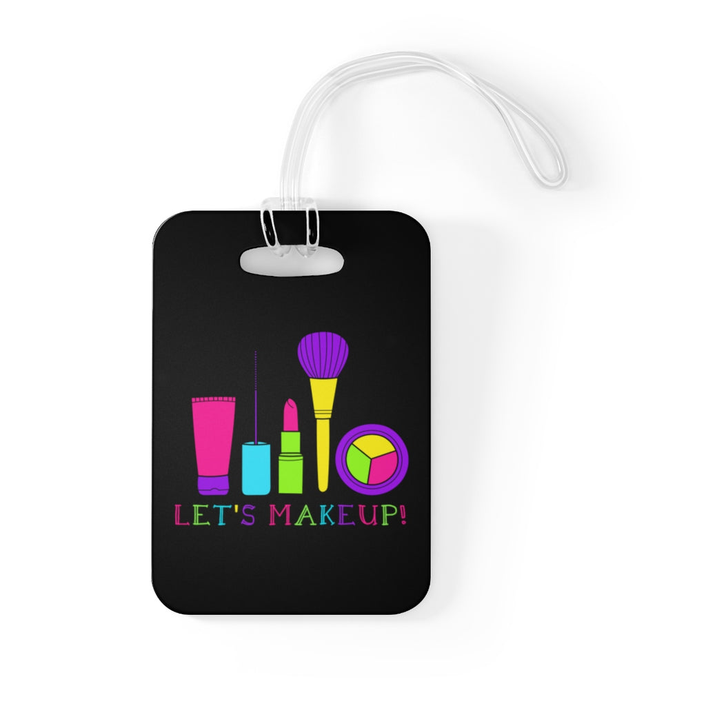 LET'S MAKEUP BAG TAG