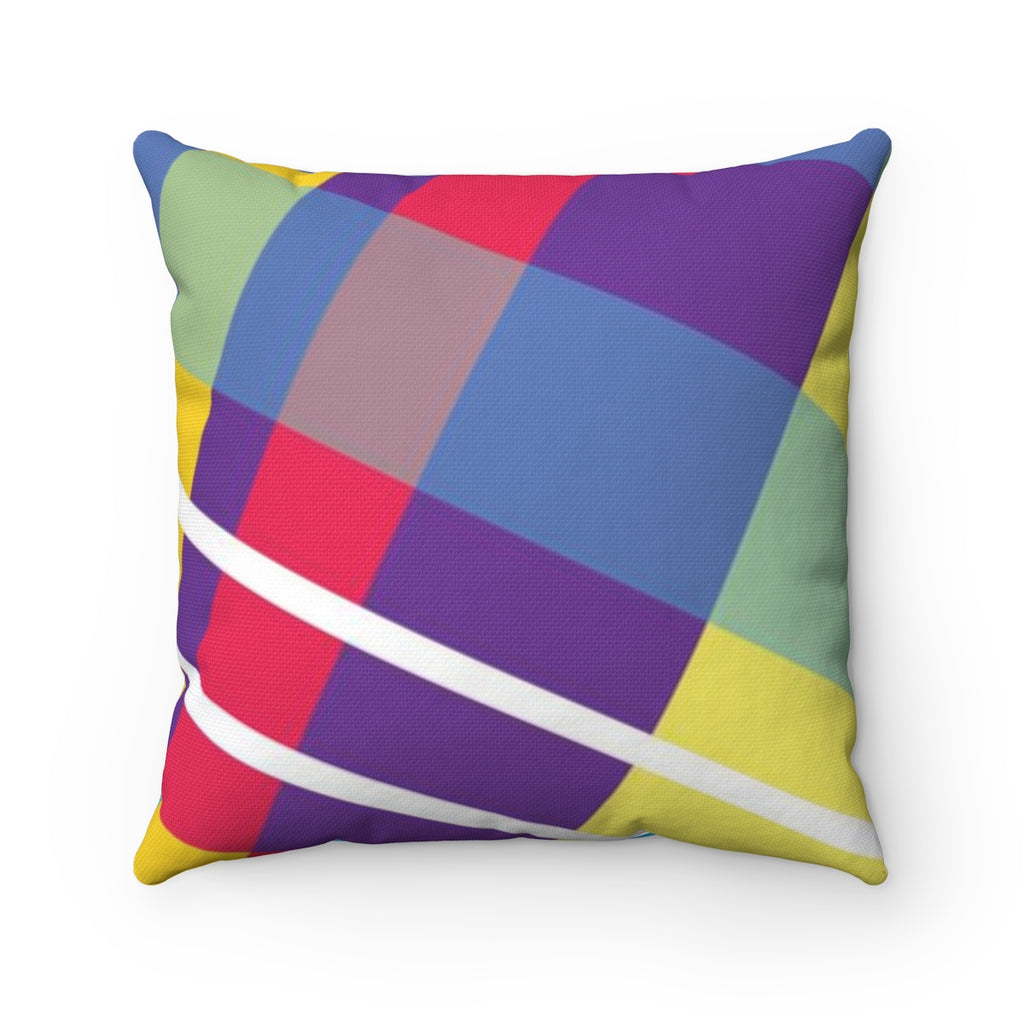 MERRY PLAID Square Pillow Case