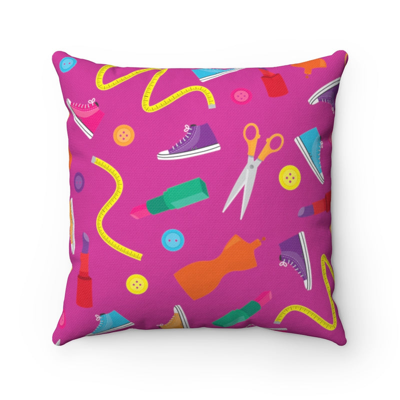 FUN FASHION PILLOW CASE- PINK